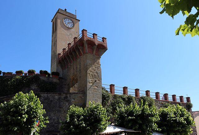 Monterchi, Torre dell'Orologio – Foto Wikimedia Commons
