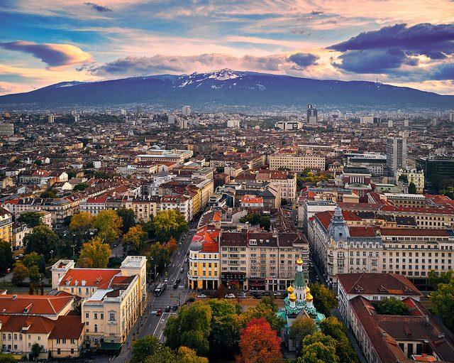 Vista su Sofia