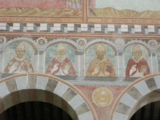 Ritratti dei papi – Foto Wikipedia