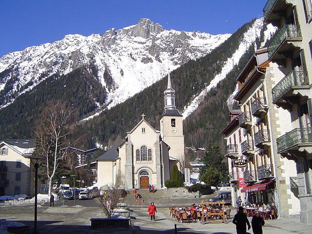 Chiesa di Chamonix – Foto Wikipedia