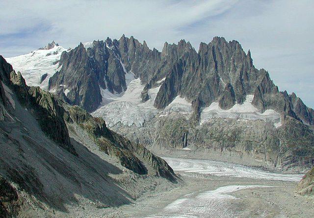 Le vette di Chamonix – Foto Wikipedia
