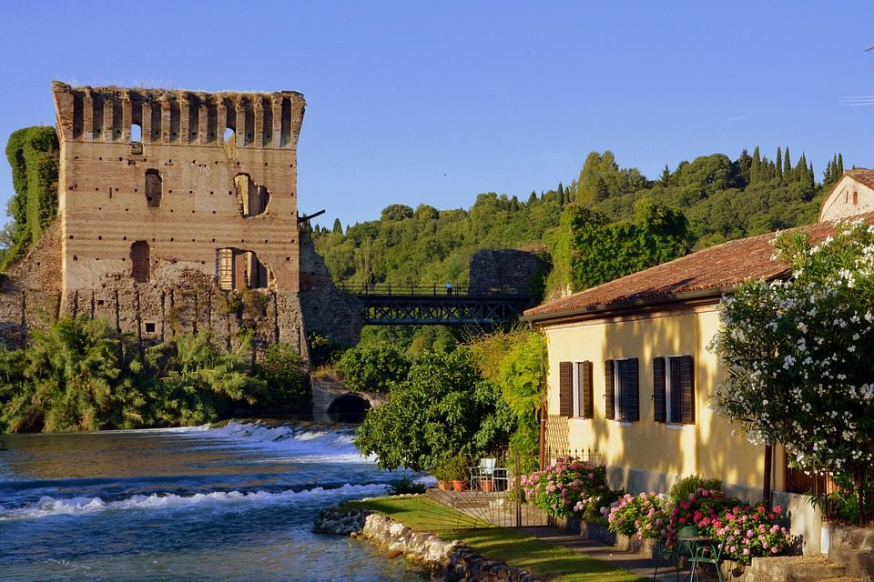 Percorso Verona - Valeggio sul Mincio - distanza, durata e ...