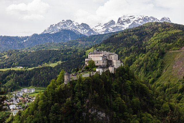 Fortezza di Hohenwerfen, il castello delle aquile