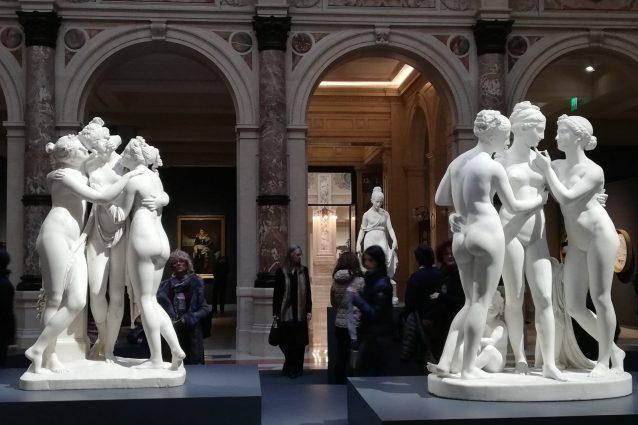 Canova e Thorvaldsen, due grandi scultori in mostra a Milano
