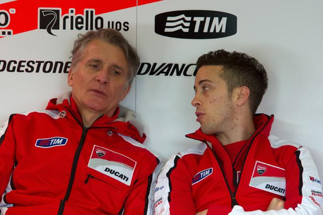 Paolo Ciabatti e Andrea Dovizioso / Getty Images