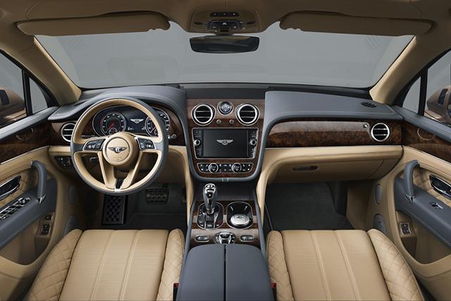 Interni Bentley Bentayga