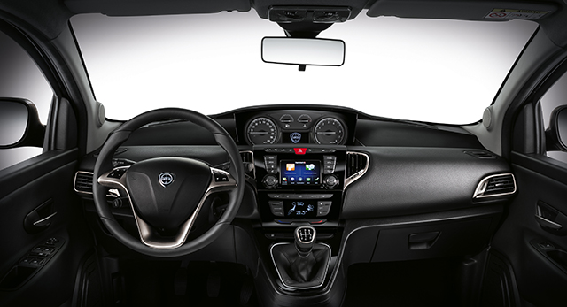 Lancia presenta a francoforte la nuova ypsilon for Interno lancia y