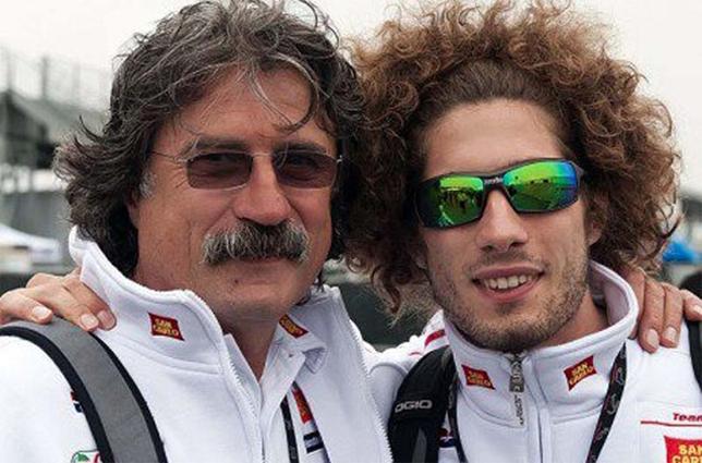"""Marco Simoncelli vive con il team Sic58: """"Non sono coincidenze, sei ..."""