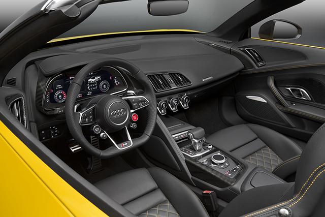 Audi R8 Spyder 2016