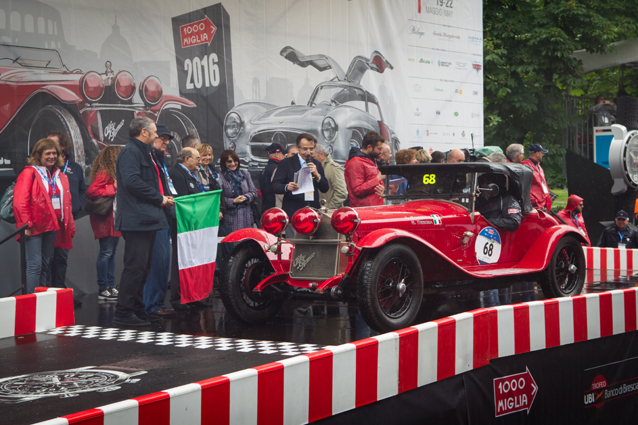 Mille Miglia 2016, a trionfare è stata la 6C 1750 Gran Sport del 1930