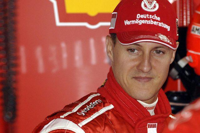 Michael Schumacher negli anni in Ferrari / Getty
