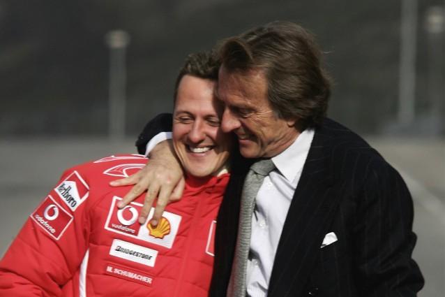 Michael Schumacher e Luca Cordero di Montezemolo