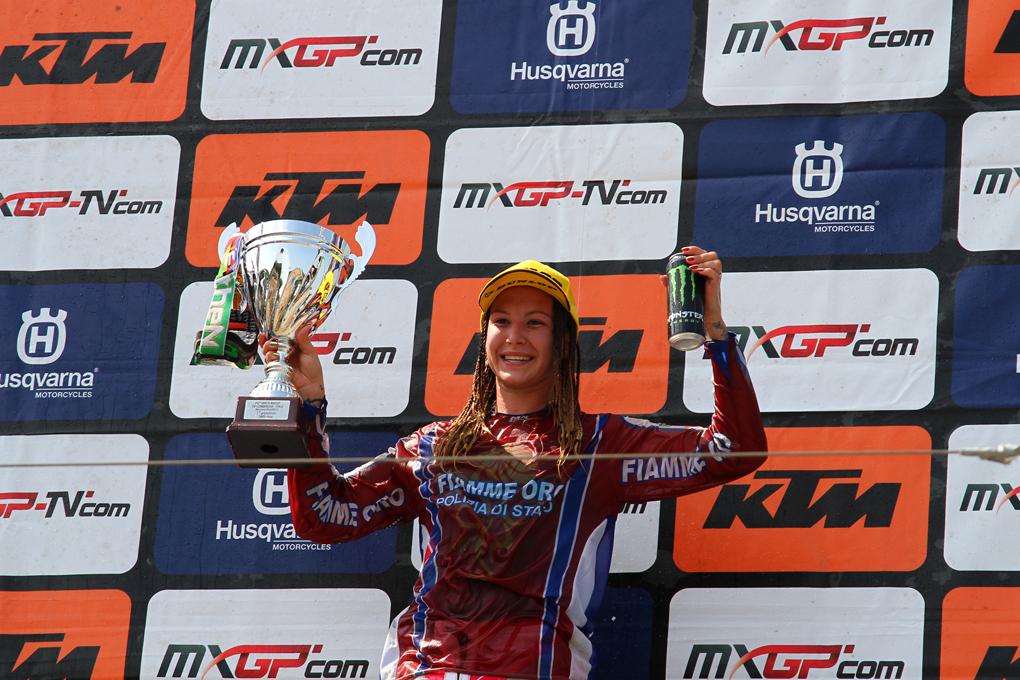 Kiara Fontansesi si aggiudica il GP classe WMX – foto Fabrizio Carrubba