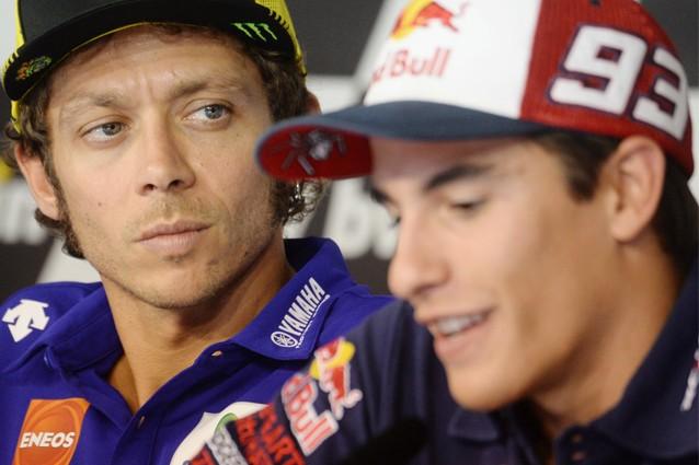 """MotoGp, Marquez: """"A cena con Valentino Rossi? Ecco cosa farei"""""""