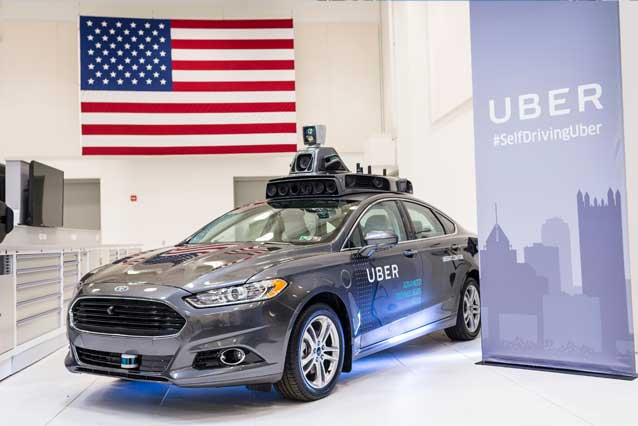 La self driving car di Uber / Getty