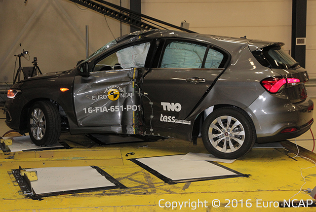 Crash Test Fiat Tipo