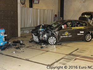 Fiat Tipo Crash Test Euro NCAP