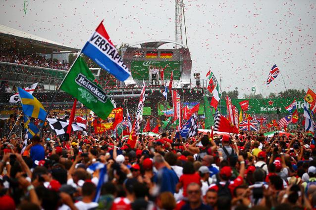 Il podio del Gran Premio di Monza – Getty Images