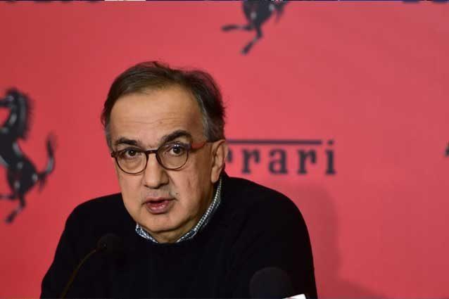 Il presidente e amministratore delegato di Ferrari, Sergio Marchionne