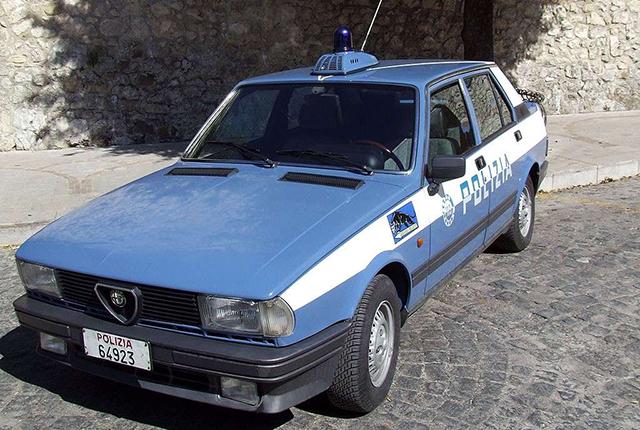 Alfa Romeo Giulietta 1977 Polizia