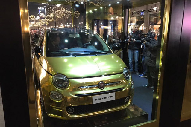 Fiat 500 Garage Italia Customs