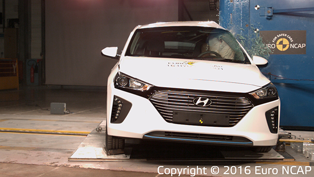 Hyundai Ioniq Crash Test Euro NCAP