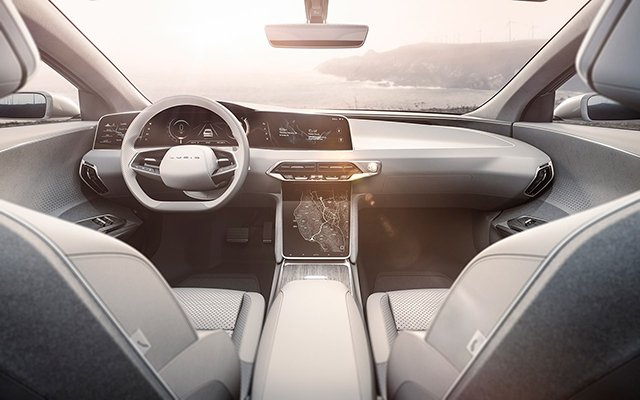 Interni Lucid Air