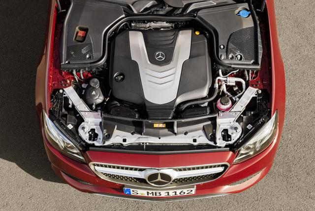 Motore Mercedes Classe E Coupé