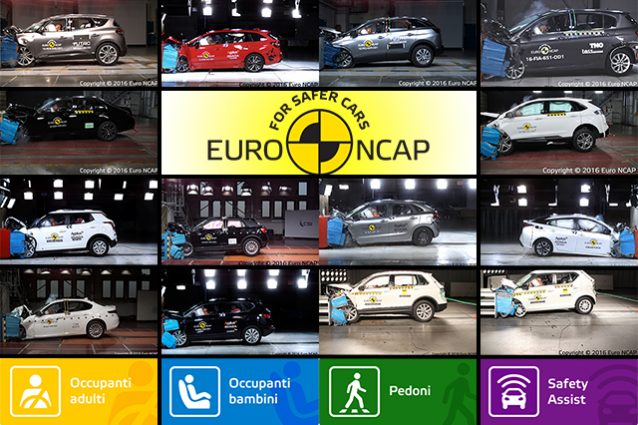 Top e Flop Crash Test Euro NCAP 2016