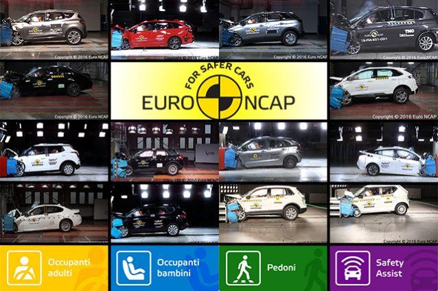 Top e Flop Crash Test Euro NCAP 2016