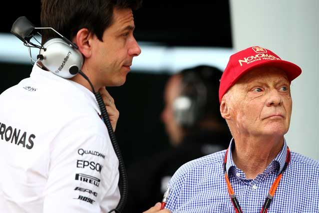 Toto Wolff e Niki Lauda  GettyImages