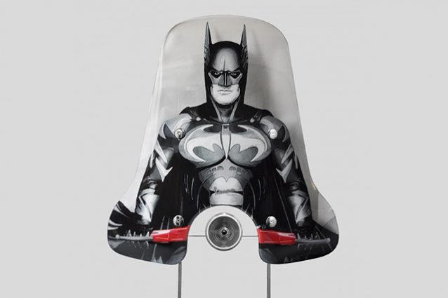 Parabrezza Vespa Batman