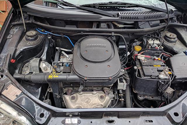 Cofano motore