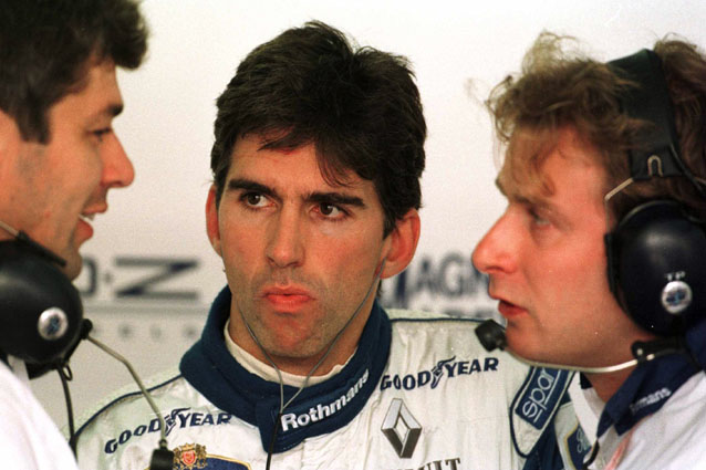 Damon Hill – ALLSPORT
