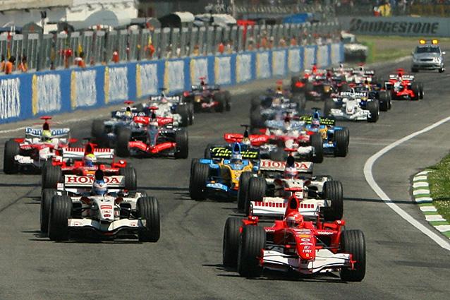 La Ferrari di Michael Schumacher a Imola – Getty Images
