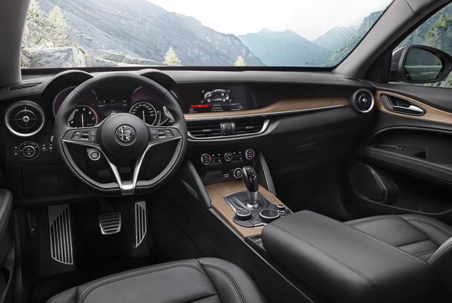 Interni Alfa Romeo Stelvio