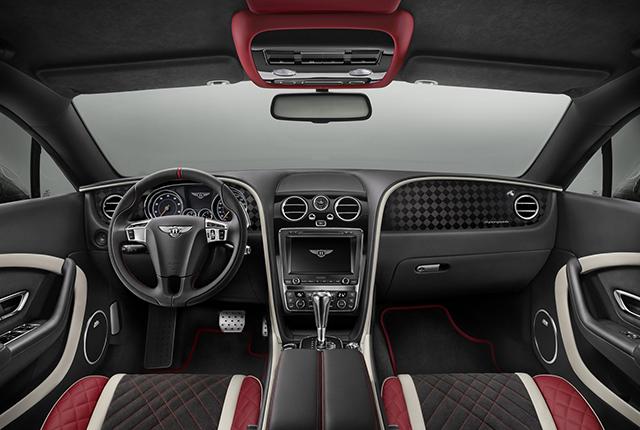 Interni Bentley Continental Supersport