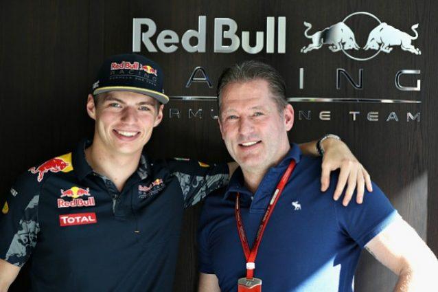 Max e Jos Verstappen.