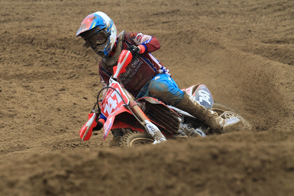 Michele Cervellin, campione in carica nella classe MX2
