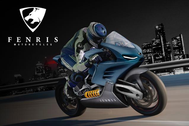 Il nuovo prototipo di moto elettrica Fenris