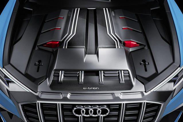 Motore Audi Q8