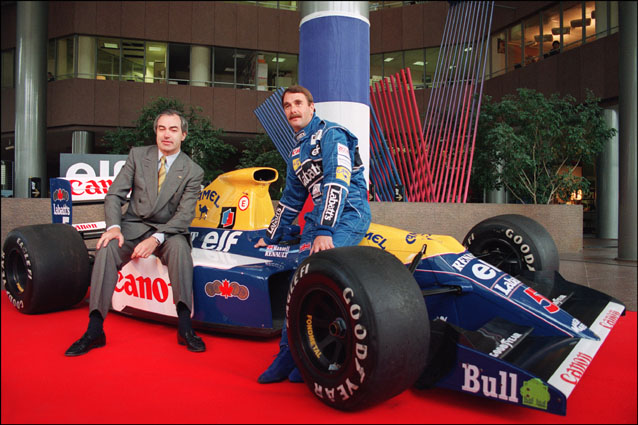 Nigel Mansell – Getty Images