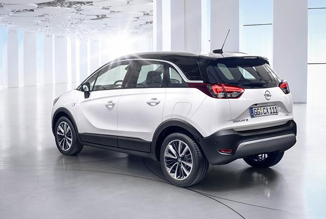 Opel Crossland X, SUV compatto ad alto tasso tecnologico
