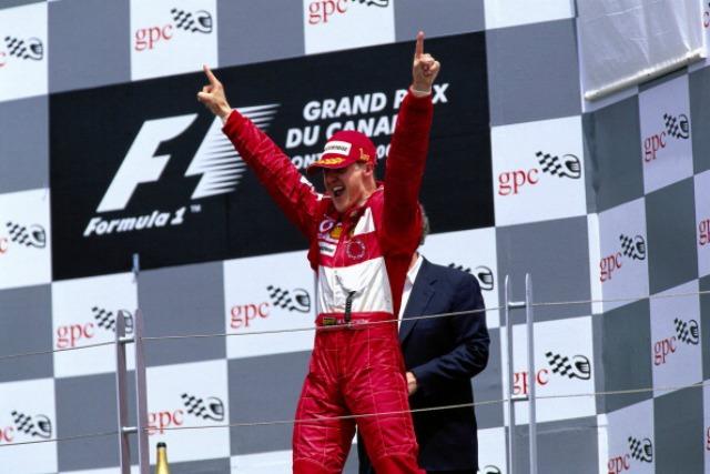 Schumacher podio