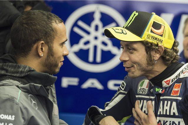 F1 vs MotoGP, Hamilton: