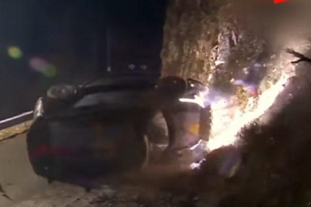 Rally di Monte-Carlo: grave uno spettatore a seguito dell'incidente di Paddon