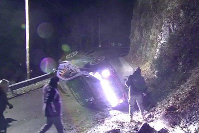 L'incidente di Hayden Paddon nel Rally di Montecarlo