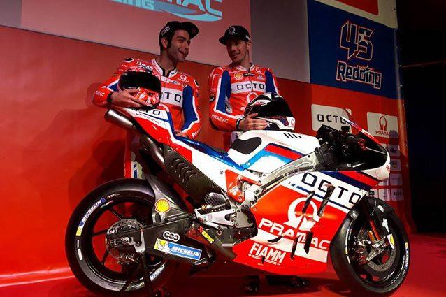 MotoGP, il team Pramac svela la nuova moto per il 2017