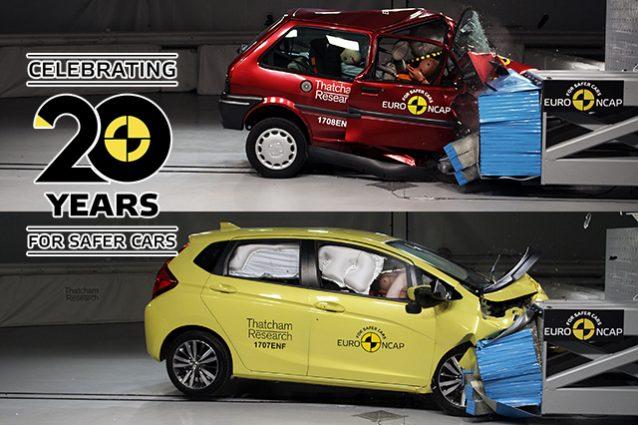 Euro NCAP 20 anni