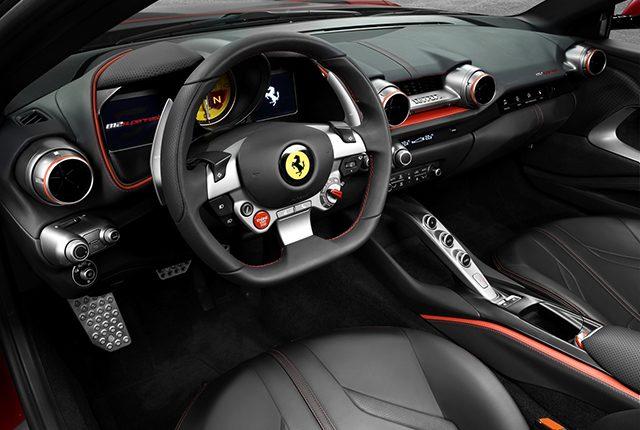Interni Ferrari 812 Superfast